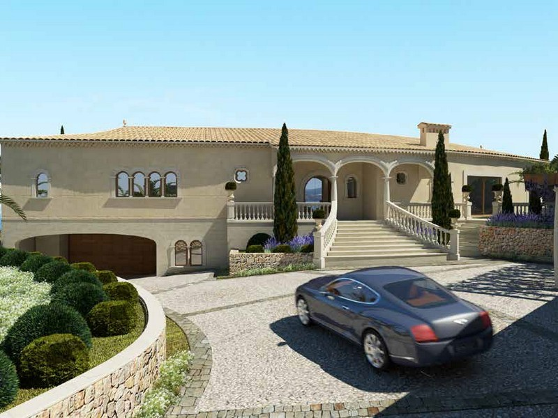 Property Of Villa with panoramic views in Costa d´en Blanes