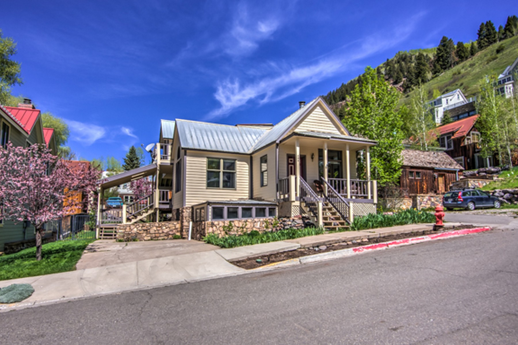 Single Family Home for Sale at 395 North Pine Street Telluride, Colorado, 81435 United States