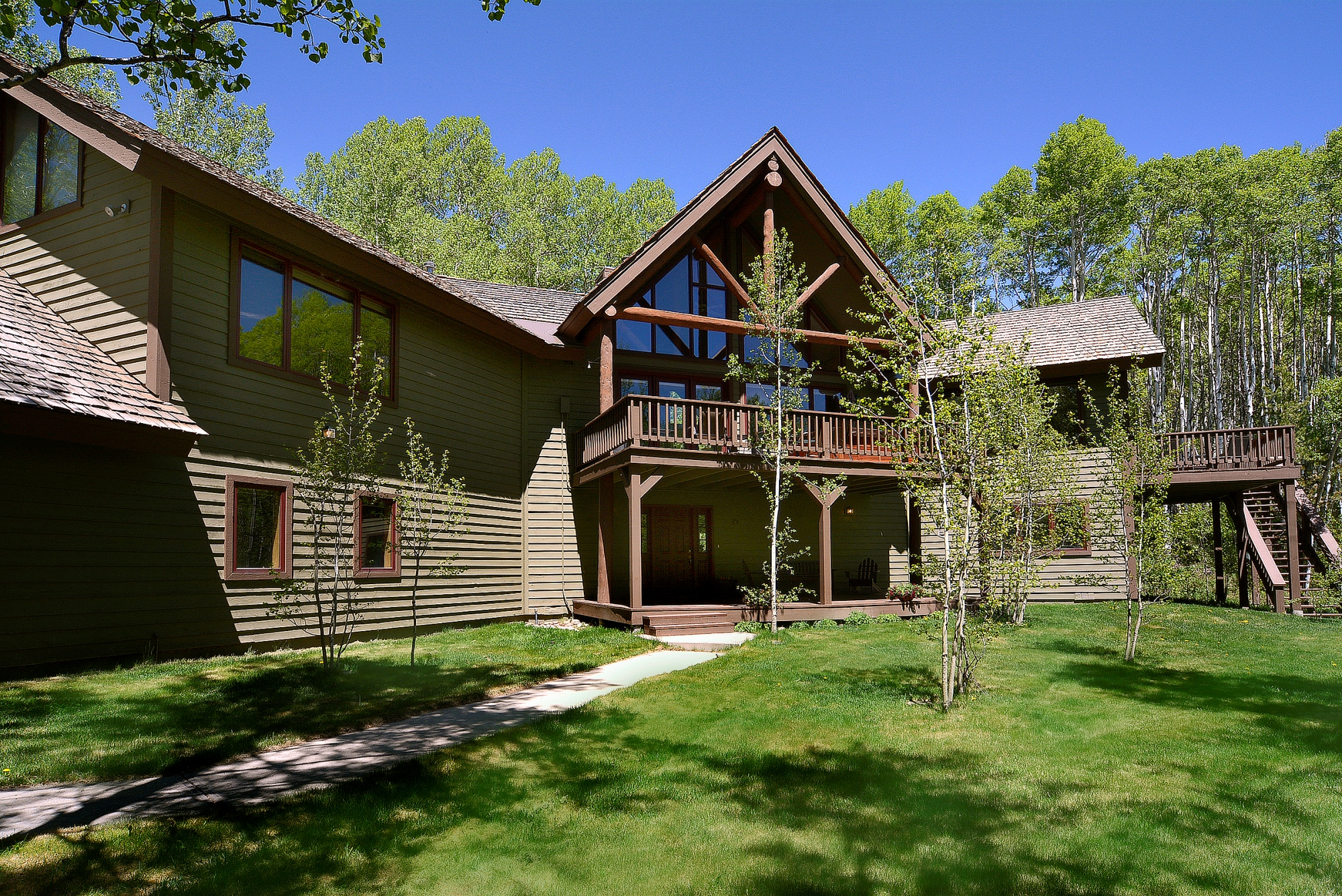 sales property at Secluded Home Within An Aspen Grove