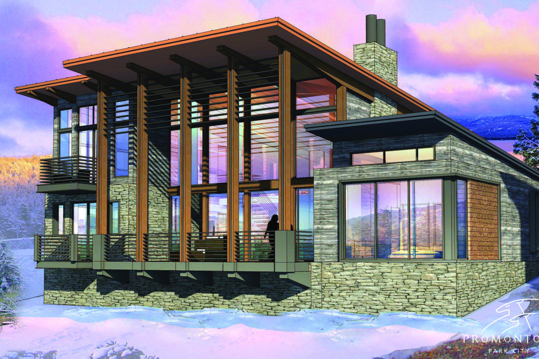 Maison unifamiliale pour l Vente à New Nicklaus Golf Cabin Promontory 6650 Golden Bear Loop West Park City, Utah, 84098 États-Unis