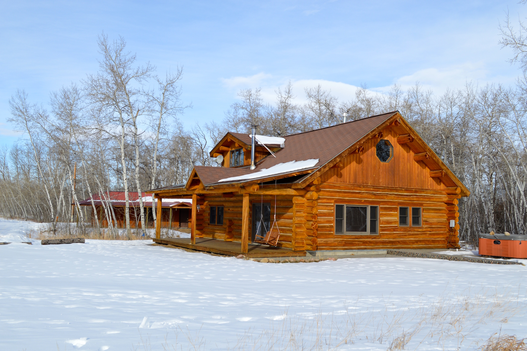 sales property at Beautiful Log Cabin and Guest House