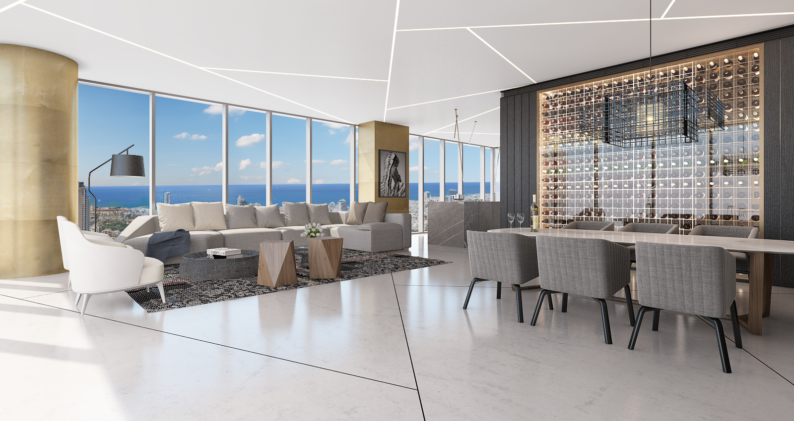 sales property at Spectacular penthouse at Meier On Rothschild