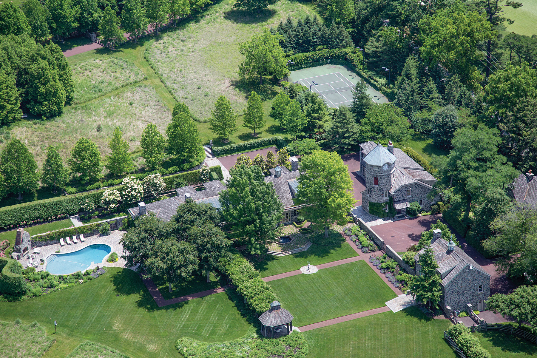 Single Family Home for Sale at Albermarle 770 Godfrey Rd. Villanova, Pennsylvania 19085 United States