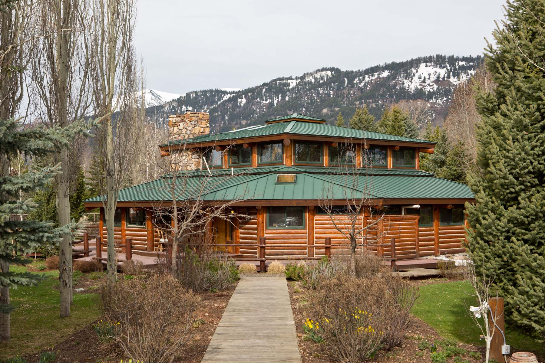 sales property at Wilson Wyoming Country Home