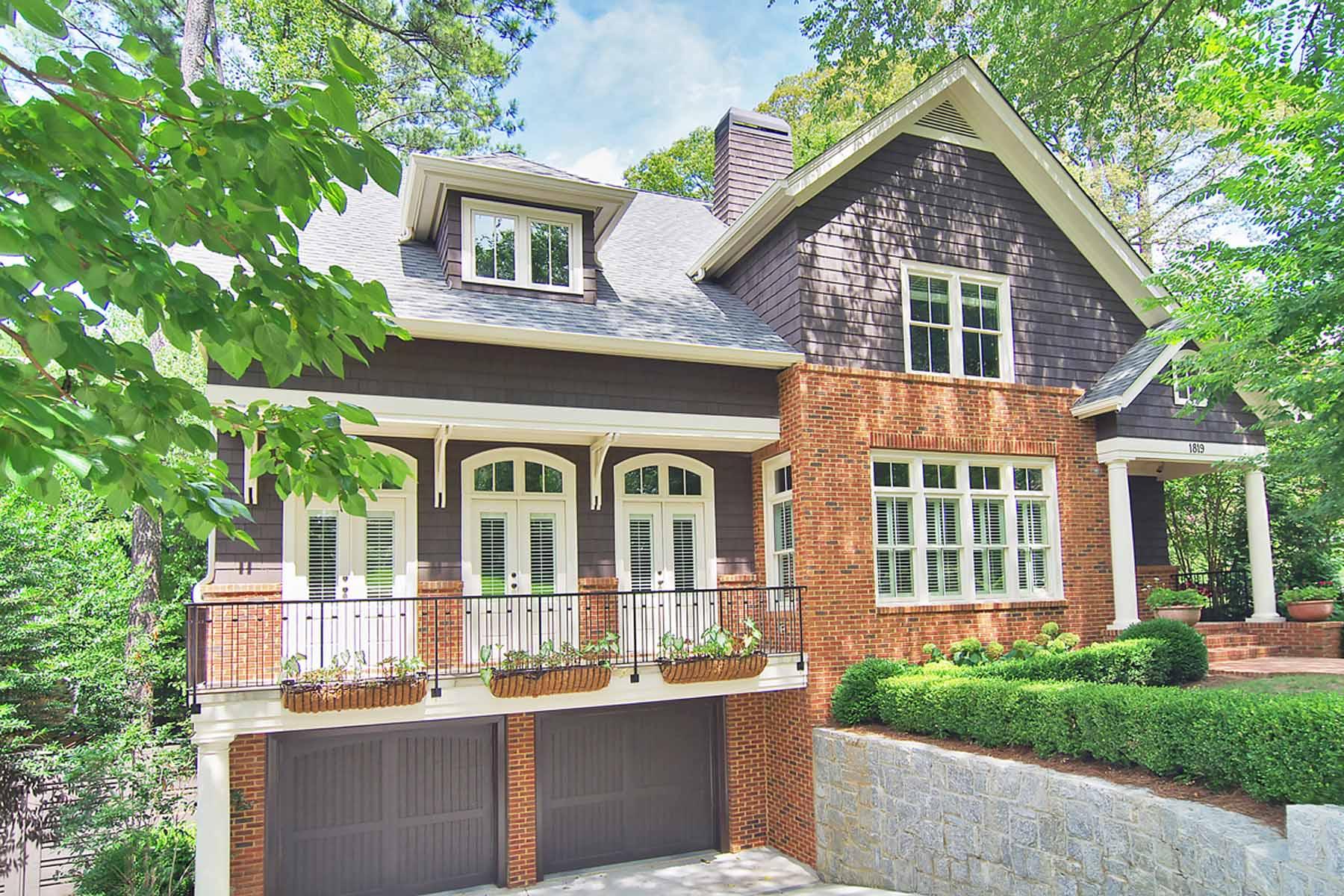Casa Unifamiliar por un Venta en Stunning Morningside Charmer 1819 Windemere Drive Morningside, Atlanta, Georgia 30324 Estados Unidos