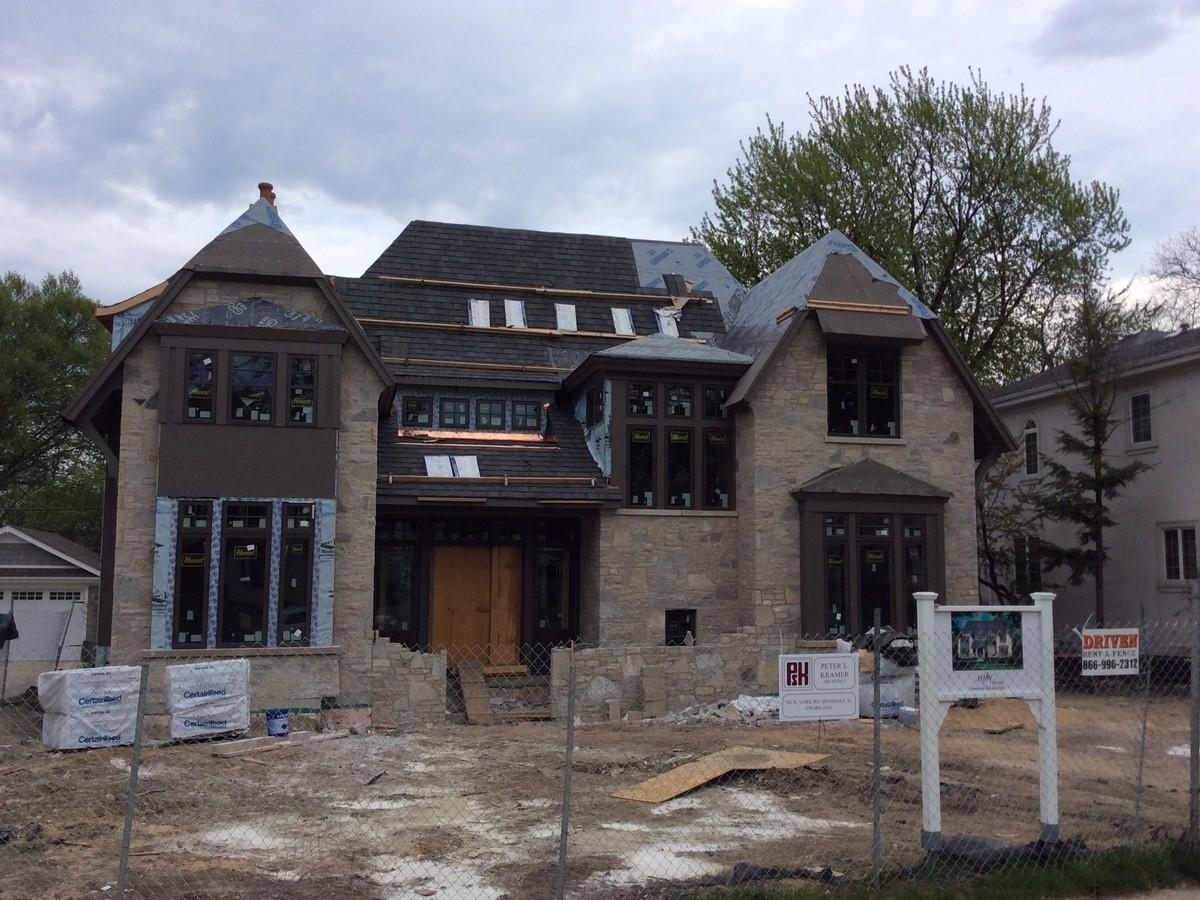 Частный односемейный дом для того Продажа на 727 S. Adams St. Hinsdale, Иллинойс 60521 Соединенные Штаты