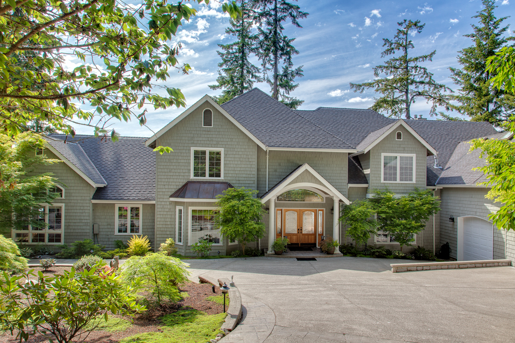 Single Family Home for Sale at Poulsbo Waterfront Estate 25875 Canyon Rd NW Poulsbo, Washington 98370 United States