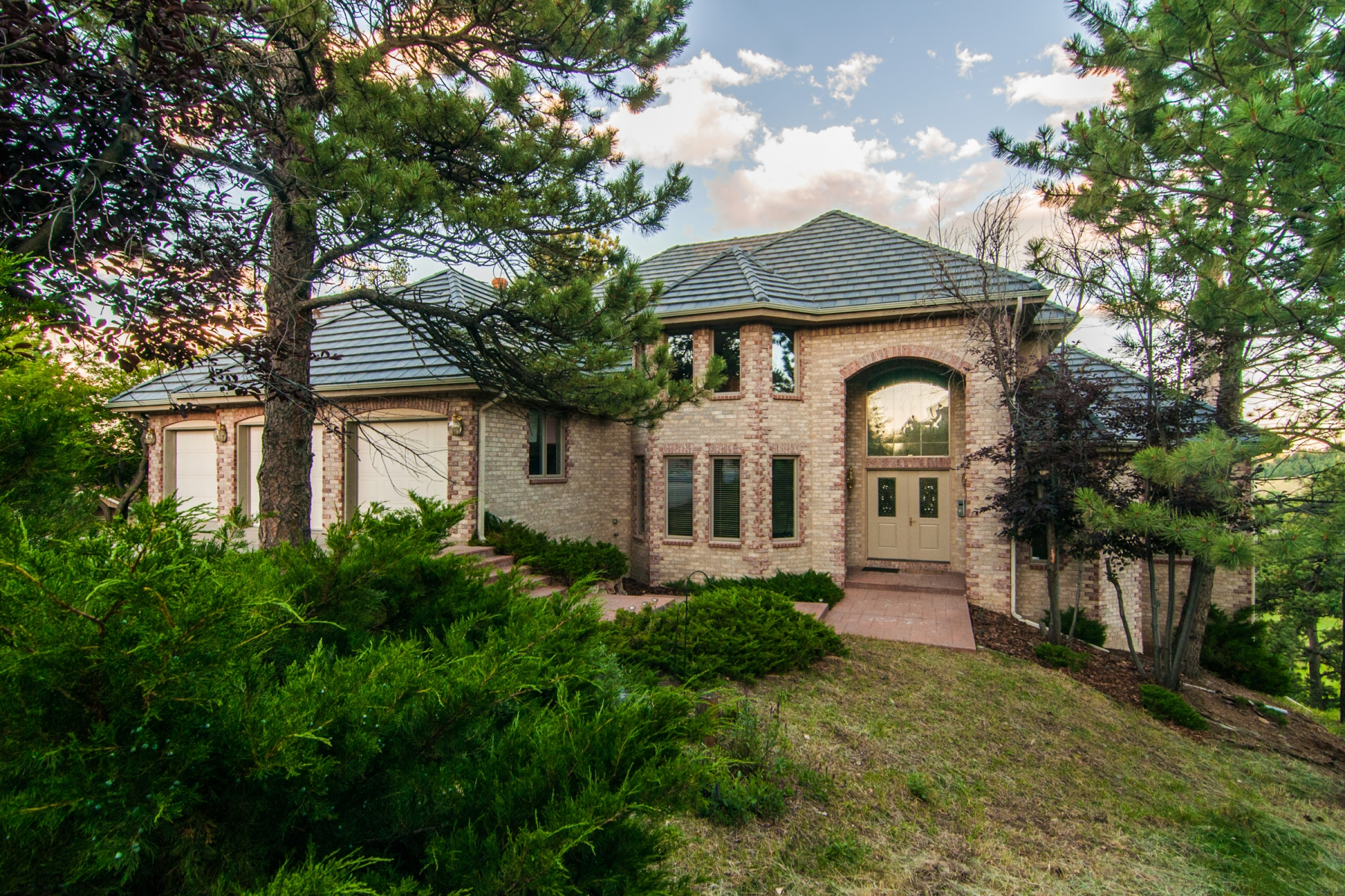 Single Family Home for Sale at Large, Light Home with Views 840 Kachina Circle Golden, Colorado 80401 United States