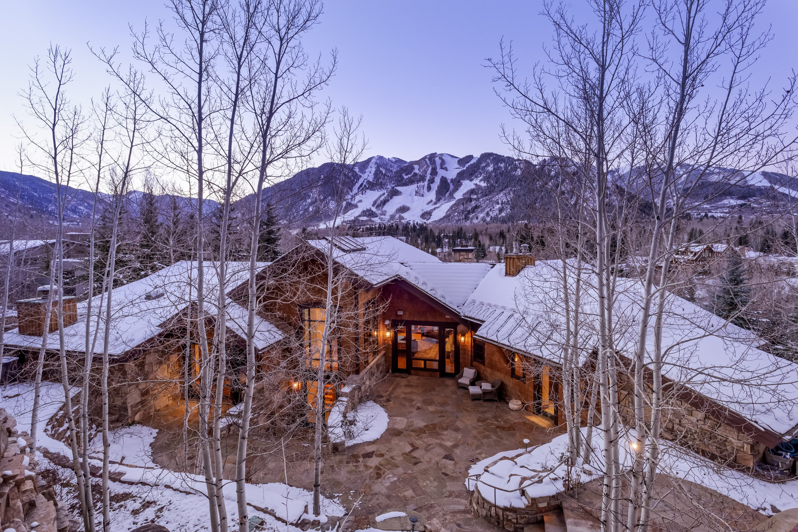 Maison unifamiliale pour l Vente à Prestigious Willoughby Way 247 Willoughby Way Aspen, Colorado 81611 États-Unis