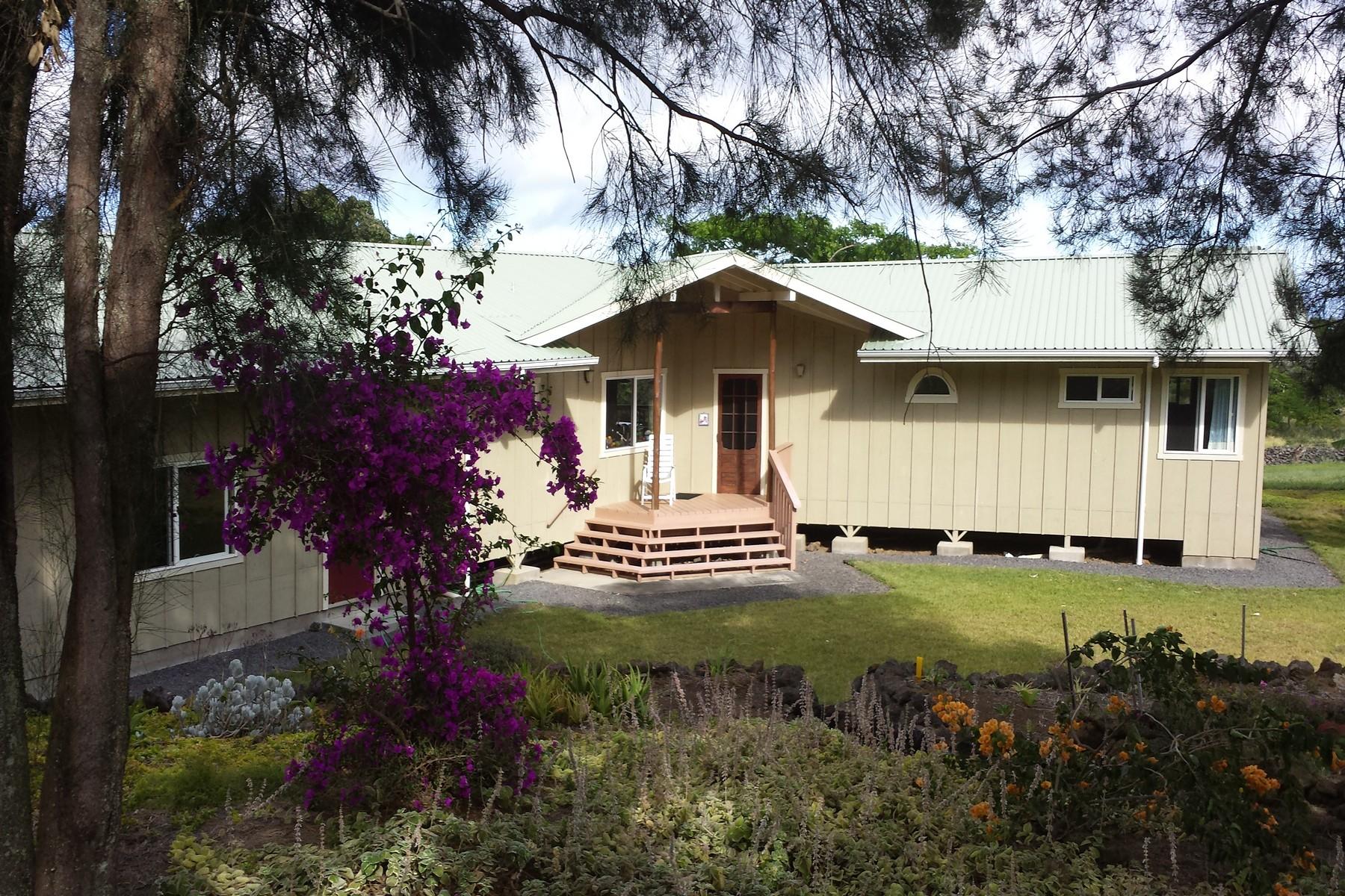 Casa para uma família para Venda às Kamaoa-Puueo 93-1786 South Point Rd #B Naalehu, Havaí 96772 Estados Unidos