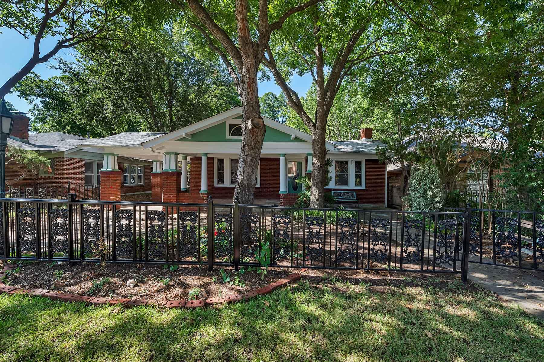 Maison unifamiliale pour l Vente à Craftsman, Chamberlain Arlington Heights 4809 El Campo Avenue Fort Worth, Texas, 76107 États-Unis
