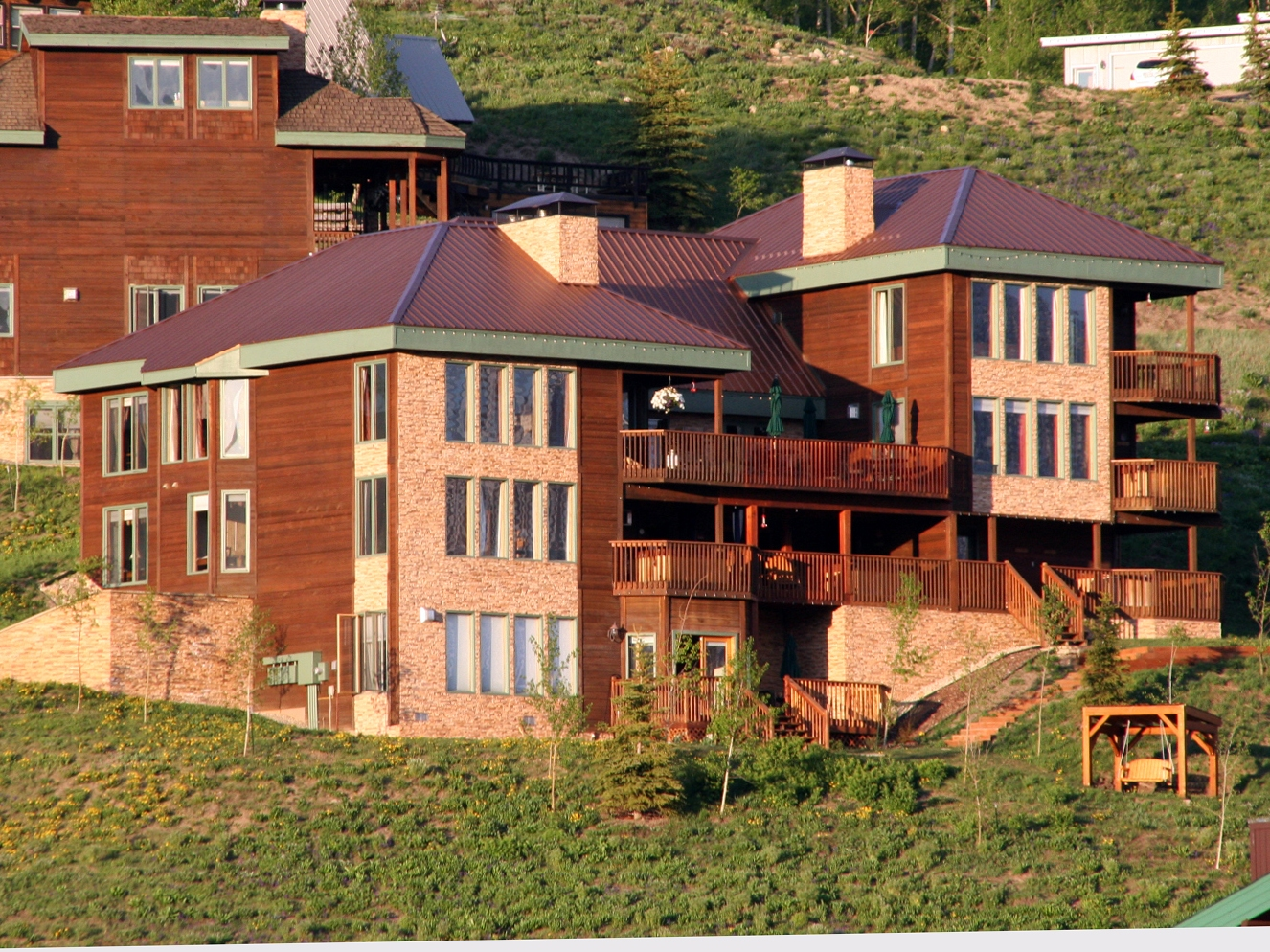 Single Family Home for Sale at Spectacular Mountain Retreat 39 Whetstone Road Crested Butte, Colorado 81225 United States