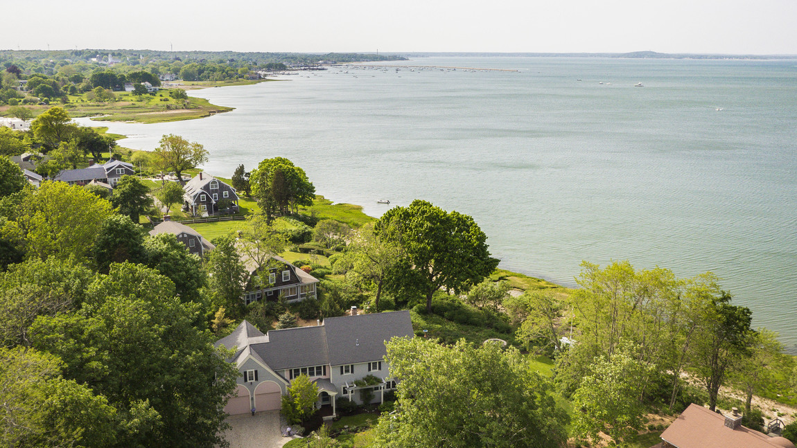 Single Family Home for Sale at Waterfront Dream Home 6 & 4 Cobb's Hollow Plymouth, Massachusetts 02360 United States