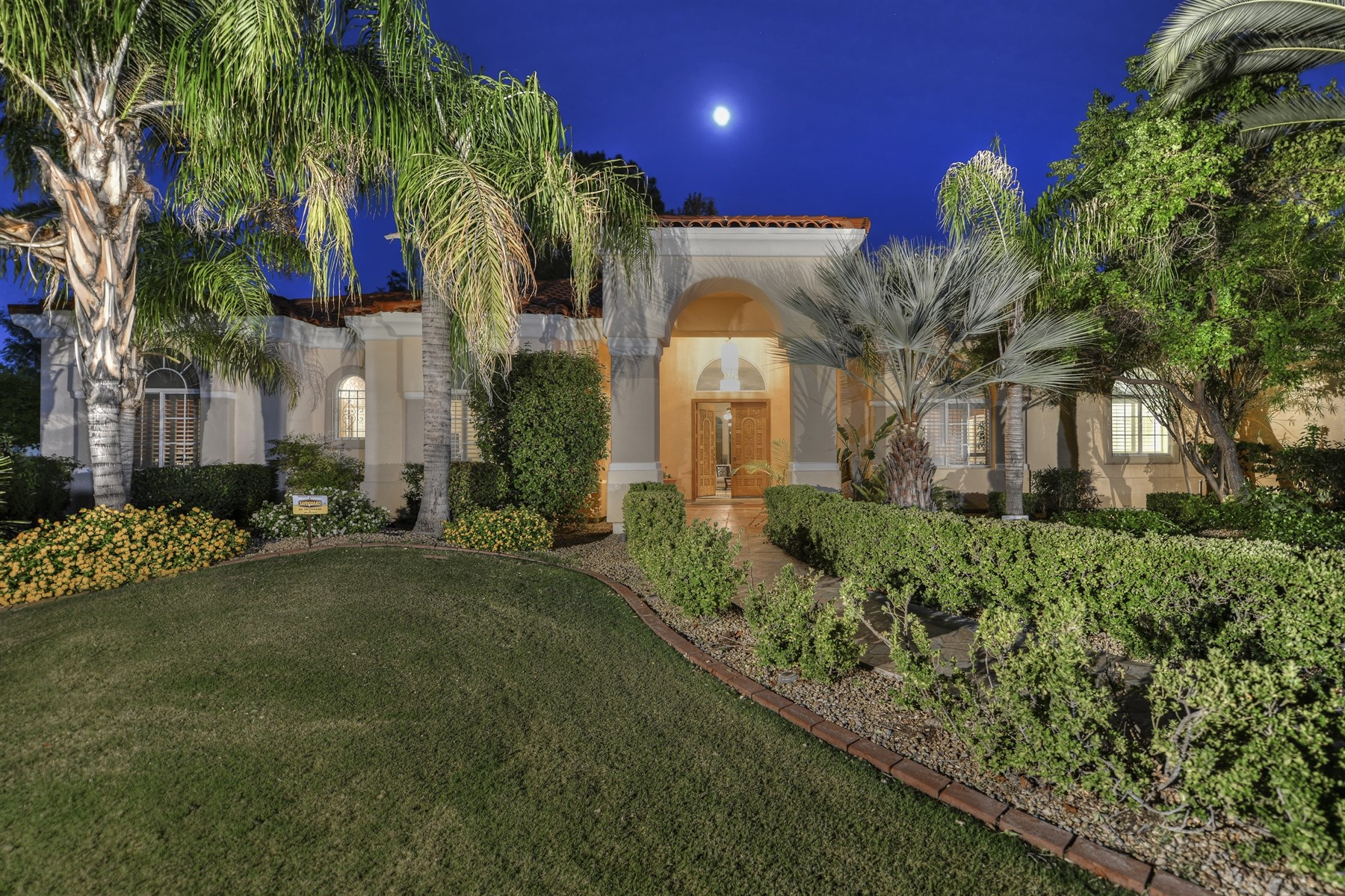 Property For Sale at Scottsdale home is centrally located in Orangetree Manor