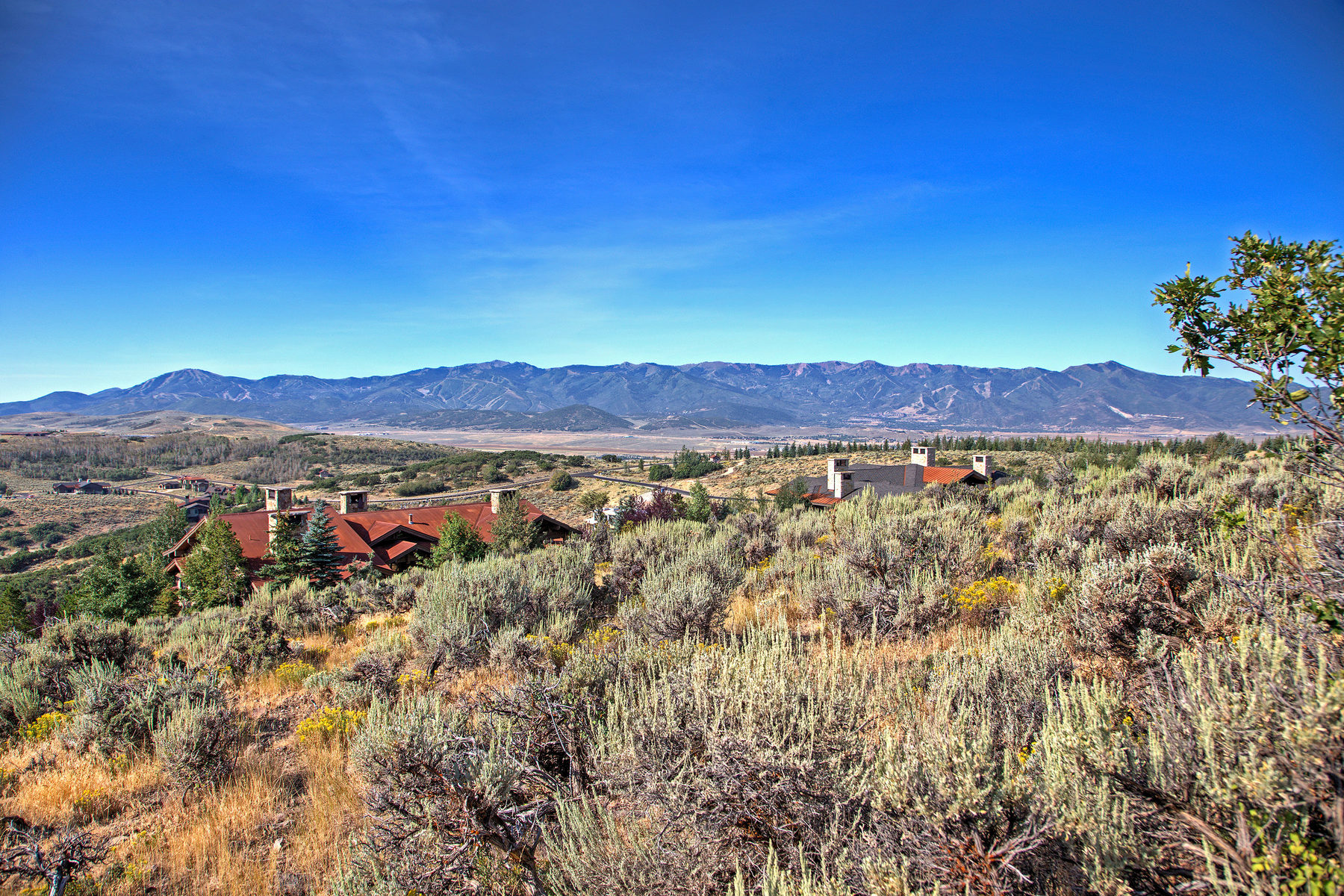 Terreno por un Venta en Deer Crossing Home Site - 180 Degree Vista of the Wasatch Front and Kamas 8172 Promontory Ranch Rd Lot 77 Park City, Utah, 84098 Estados Unidos
