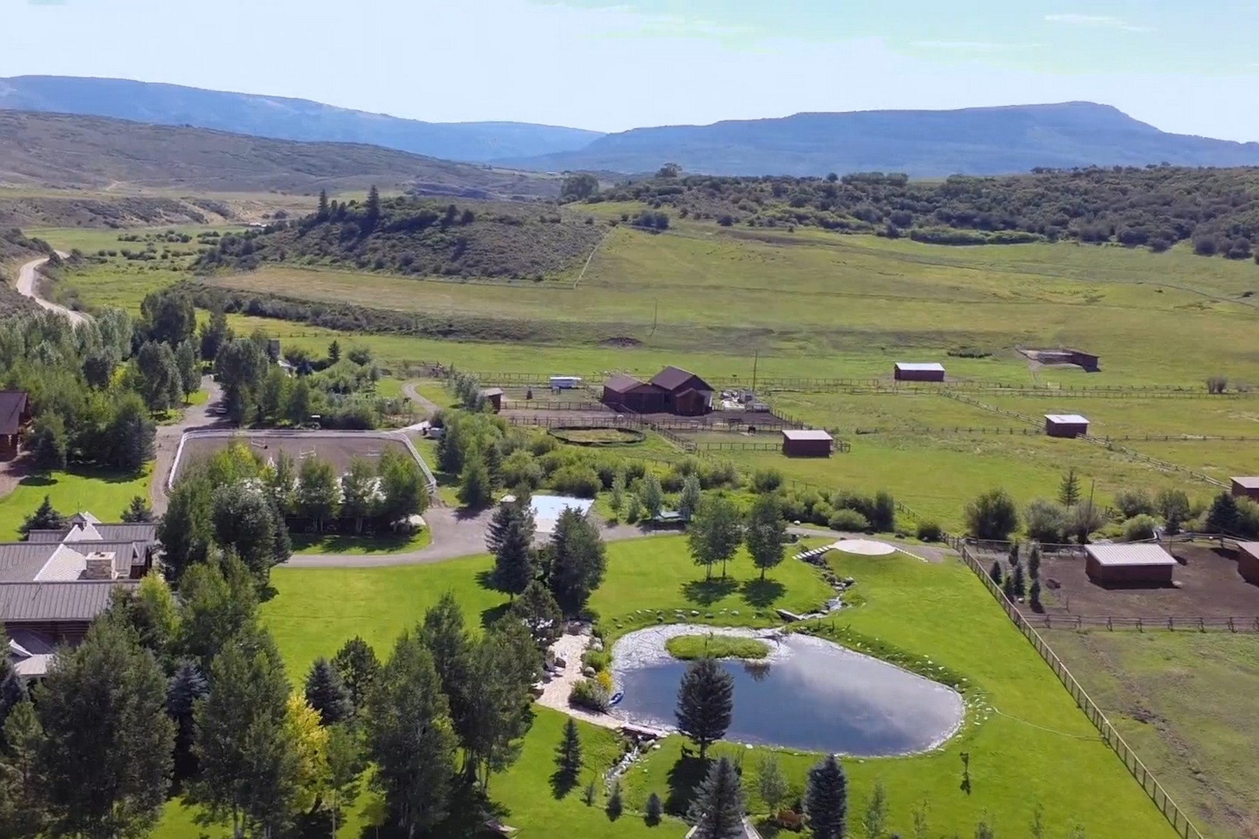 Farm / Ranch / Plantation for Active at Full Throttle Ranch 8076 County Road 113 Carbondale, Colorado 81623 United States
