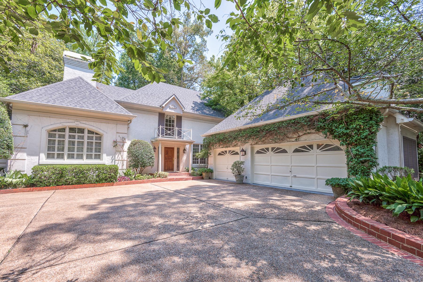 Nhà ở một gia đình vì Bán tại European Style Home In Buckhead 105 Blackland Road NW Tuxedo Park, Atlanta, Georgia 30342 Hoa Kỳ