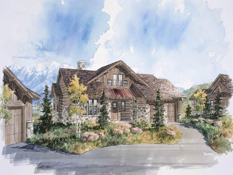 Single Family Home for Sale at Park City Cabin in Promontory, a Private Mountain & Golf Recreational Community 3809 Cynthia Cir Lot 24 Park City, Utah 84098 United States