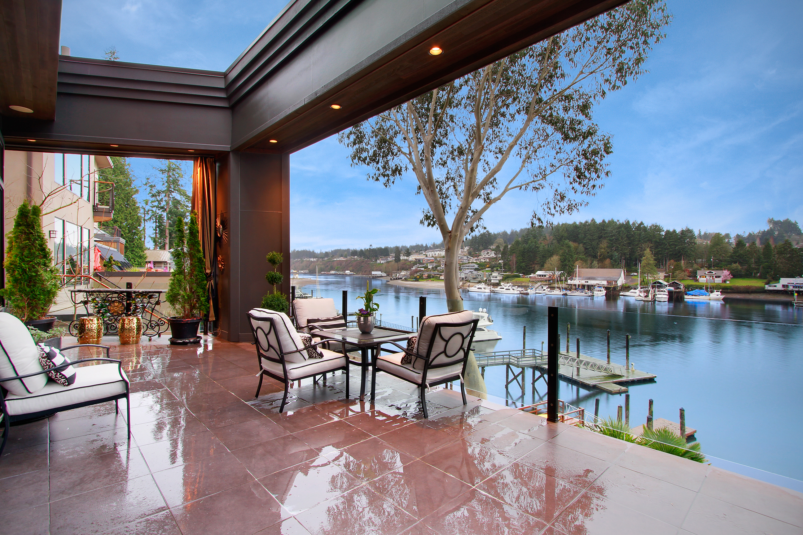 Single Family Home for Sale at ArtfulWaterfront 7930 Goodman Drive NW Gig Harbor, Washington, 98332 United States