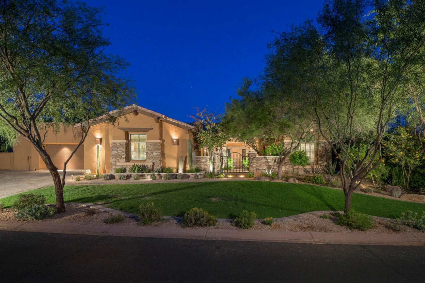 sales property at Rare Edmunds Cheyenne floorplan with beautiful McDowell Mountain views