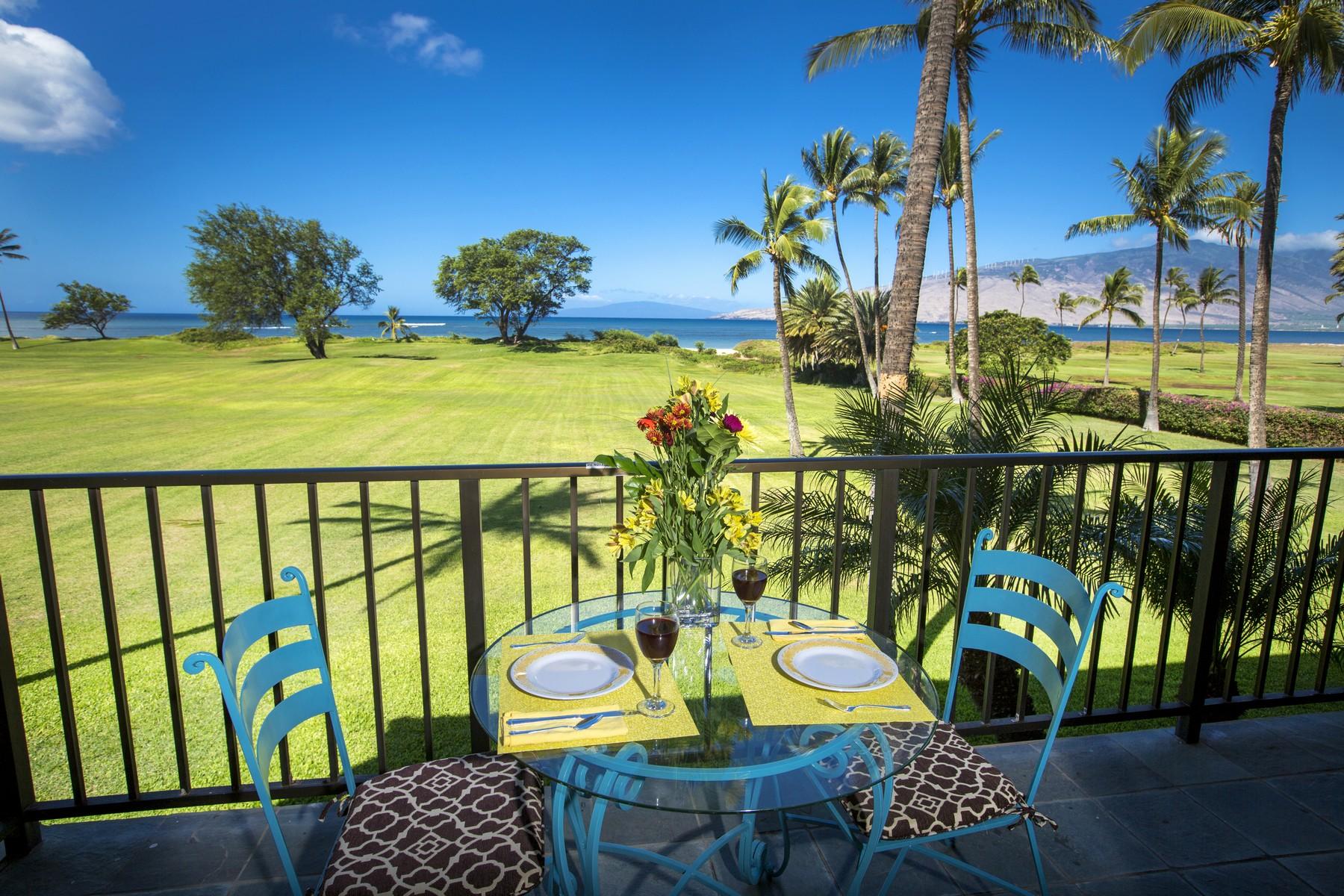 Eigentumswohnung für Verkauf beim Beachfront Living 940 South Kihei Road, Luana Kai A-202 Kihei, Hawaii 96753 Vereinigte Staaten