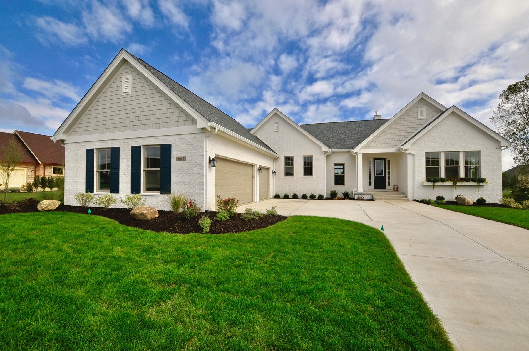 独户住宅 为 销售 在 Top of the Line Finishes 9915 S. Towne Lane 卡梅尔, 印第安纳州 46033 美国