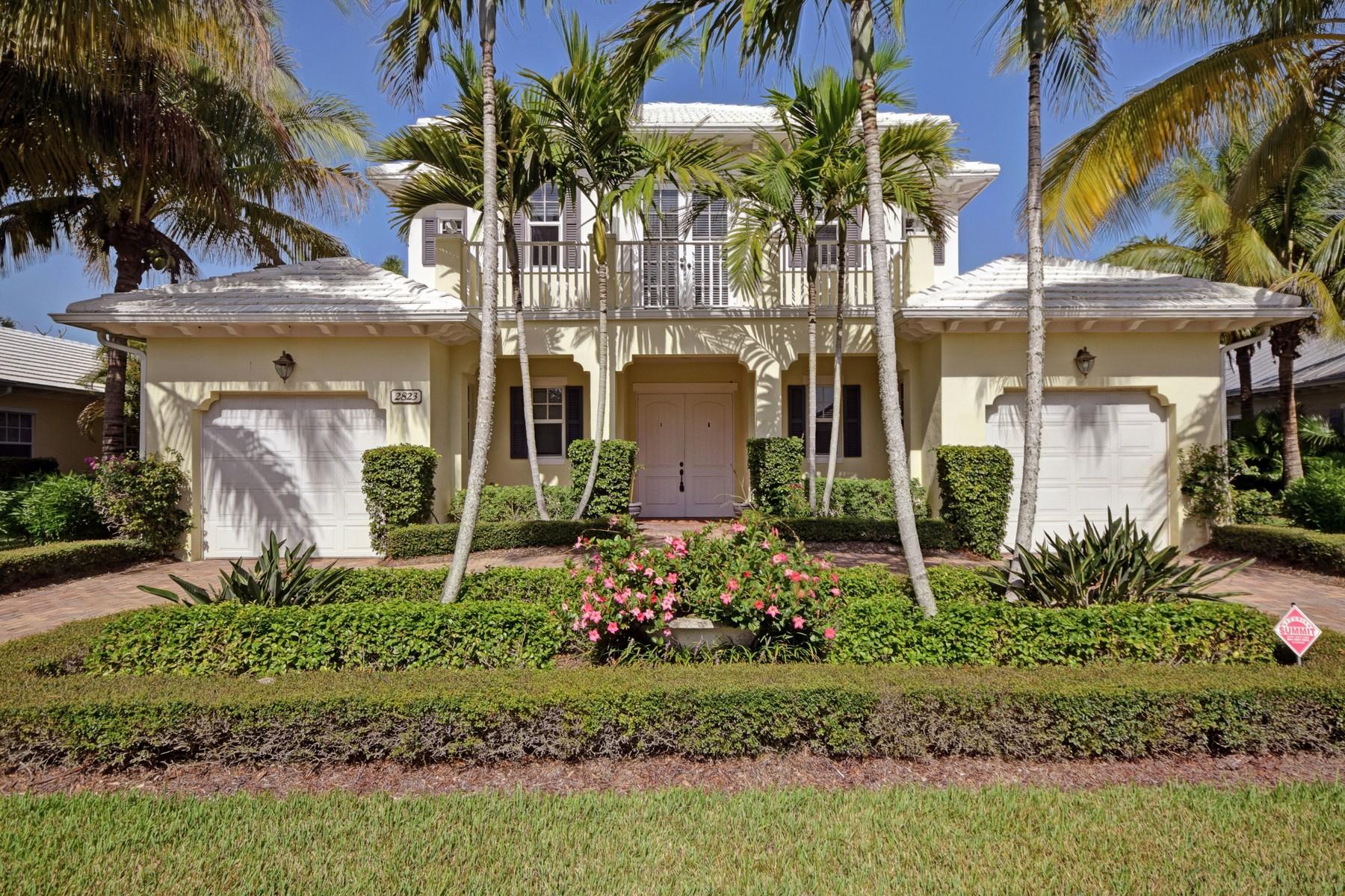 단독 가정 주택 용 매매 에 Spectacular home in the Antilles 2823 St Barts Square Vero Beach, 플로리다 32967 미국