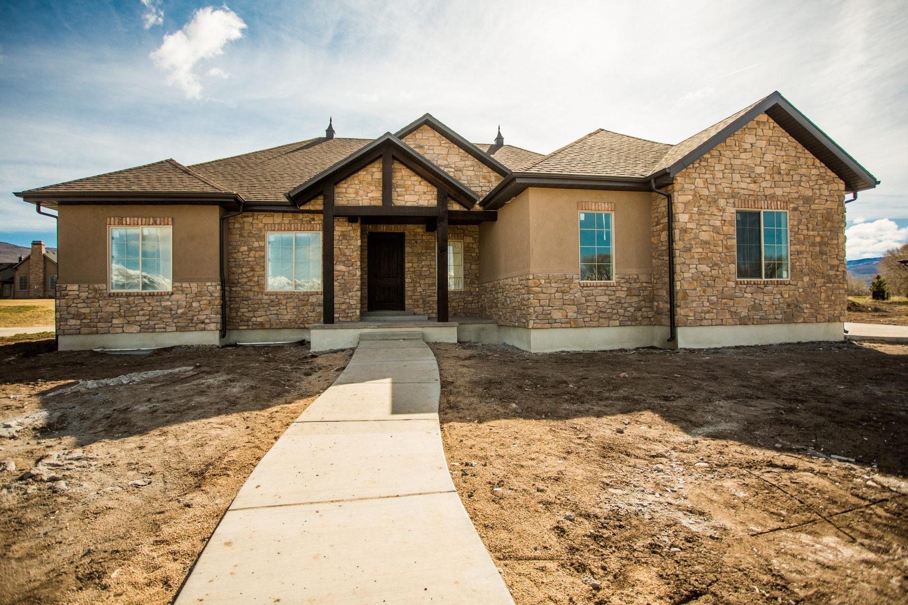 Maison unifamiliale pour l Vente à Custom Mountain Contemporary 191 South 1850 East #12 Heber City, Utah 84032 États-Unis
