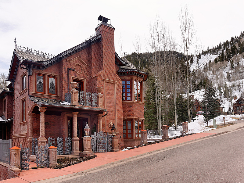 Single Family Home for Sale at One of a kind Ski-In Property 918 S. Mill Street Aspen, Colorado 81611 United States