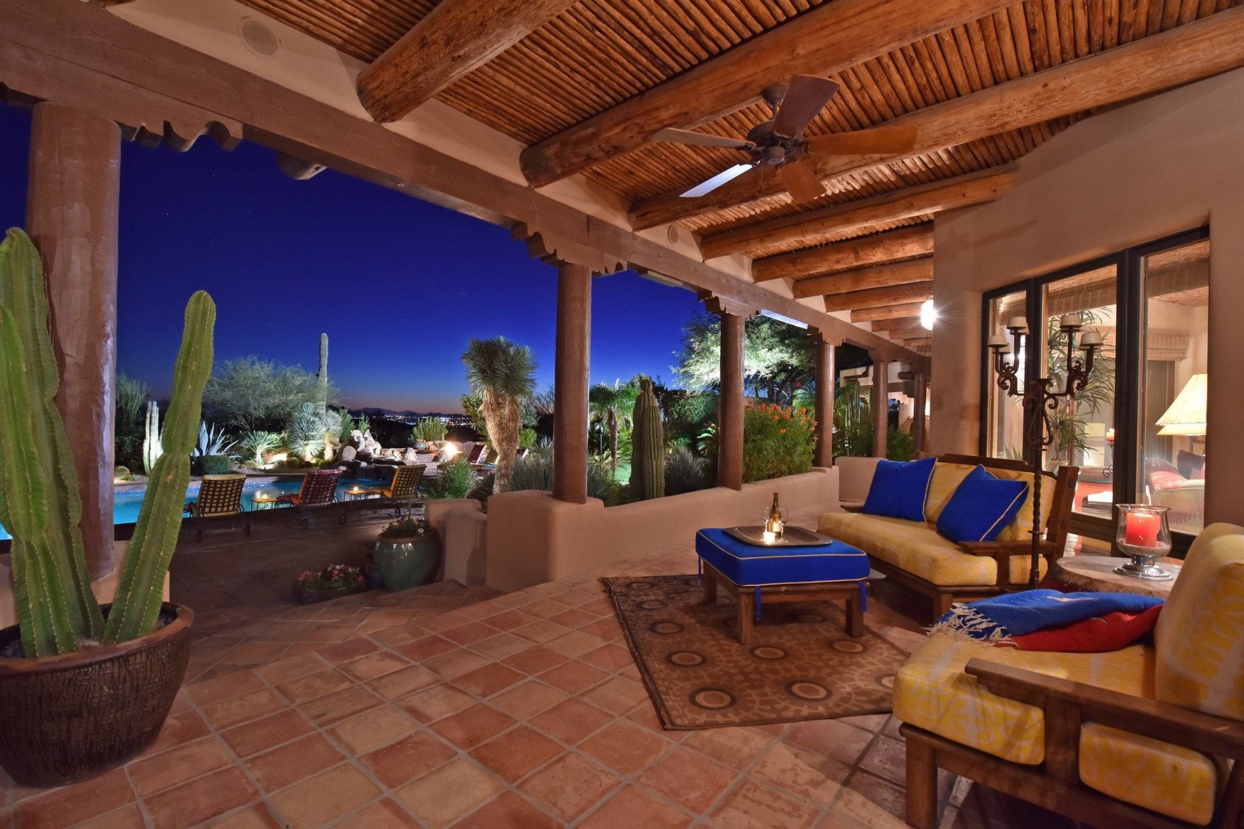 sales property at Authentically Renovated Santa Fe Estate with over 3.5 Acres