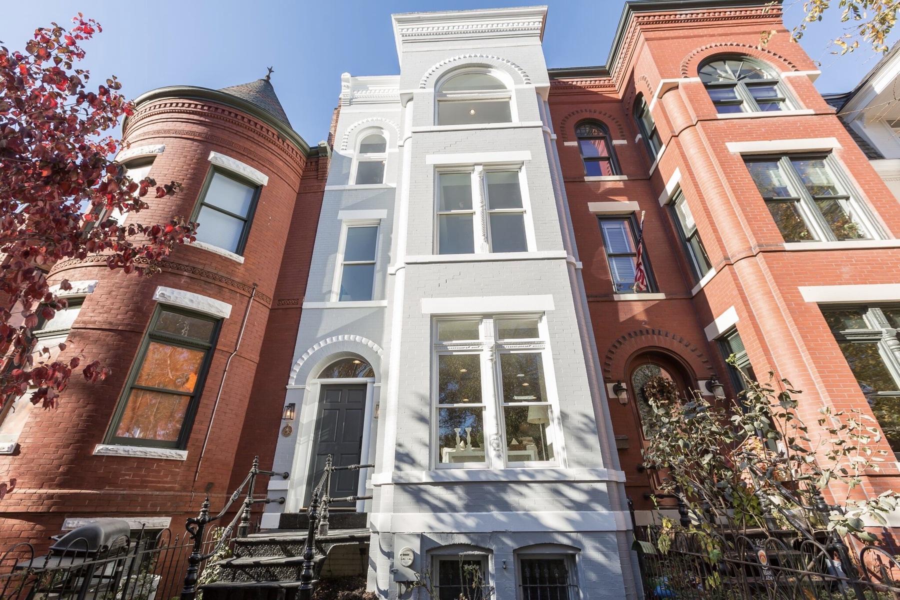 联栋屋 为 销售 在 1214 East Capitol Street Ne, Washington 华盛顿市, 哥伦比亚特区, 20002 美国