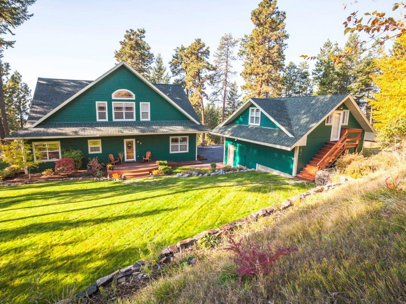 Single Family Home for Sale at Gated Community 14894 Romain Drive Bigfork, Montana 59911 United States