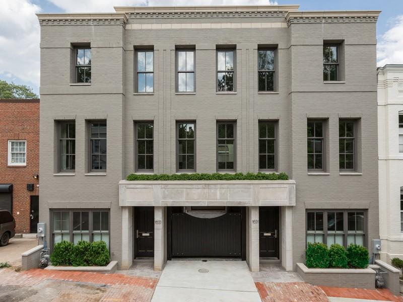タウンハウス のために 売買 アット Georgetown 1633 33rd Street NW Georgetown, Washington, コロンビア特別区 20007 アメリカ合衆国