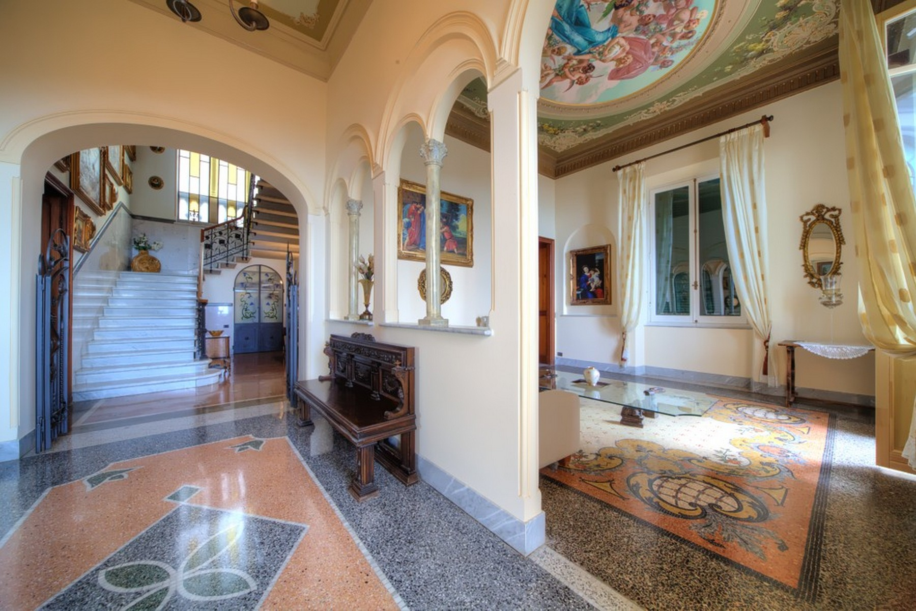 Additional photo for property listing at Art Noveau villa with awe-inspiring views Via XXV Aprile Camogli, Genoa 16032 Italien