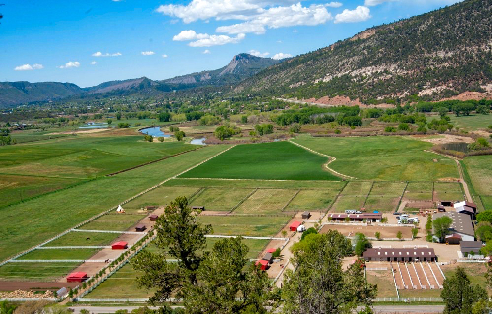 Ferme / Ranch / Plantation pour l Vente à Riversong Ranch 1729 CR 250 Durango, Colorado, 81301 États-Unis