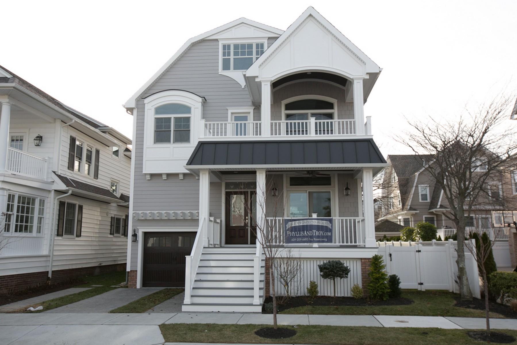 Casa Unifamiliar por un Venta en 6 S Pembroke 6 S Pembroke Ave Margate, Nueva Jersey, 08402 Estados Unidos