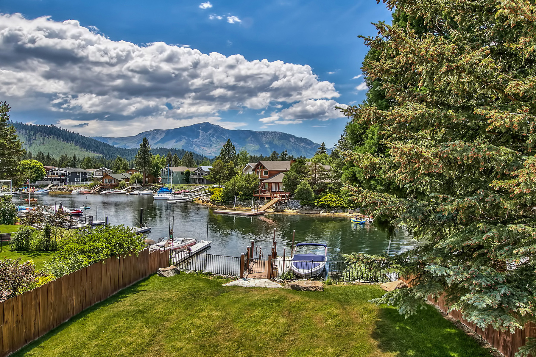 Single Family Home for Active at 490 Lido South Lake Tahoe, California 96150 United States