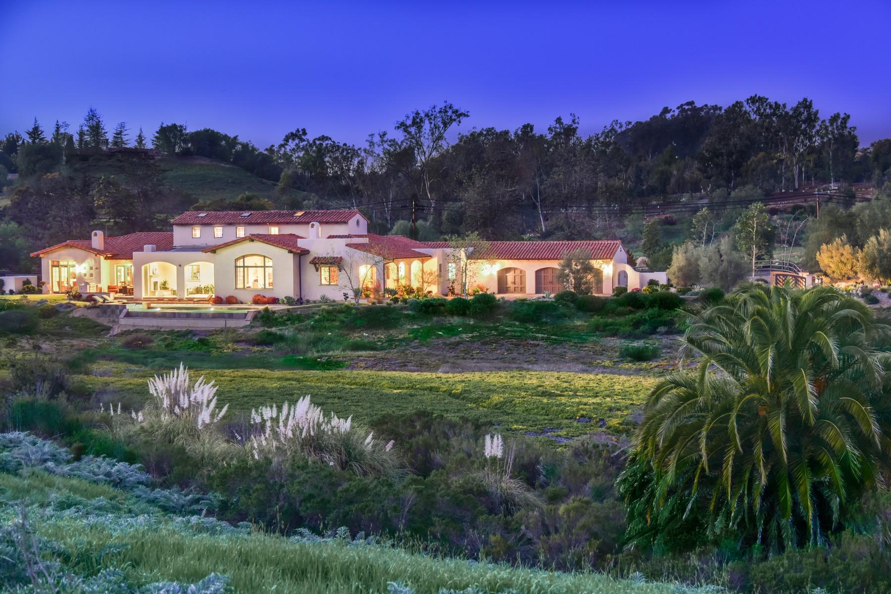 獨棟家庭住宅 為 出售 在 7052 La Palma Rancho Santa Fe, 加利福尼亞州, 92067 美國
