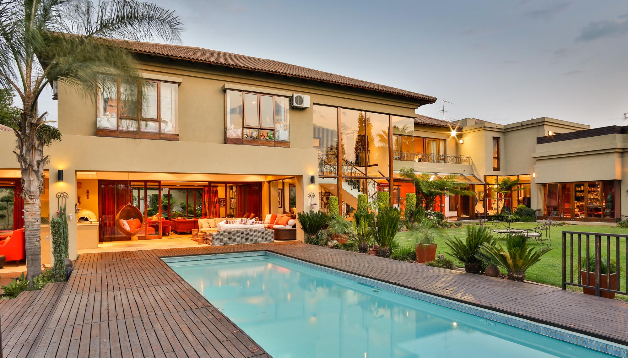 獨棟家庭住宅 為 出售 在 Bryanston Other Gauteng, 豪登省, 南非