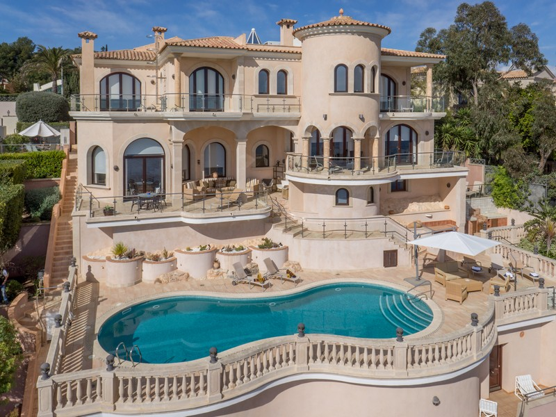 Multi-Family Home for Sale at Imposing Waterfront Mansion in Sol de Mallorca Sol De Mallorca, Mallorca, 07183 Spain