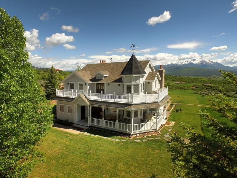 Single Family Home for Sale at Panorama Ranches 0880 Buck Point Road Carbondale, Colorado 81623 United States
