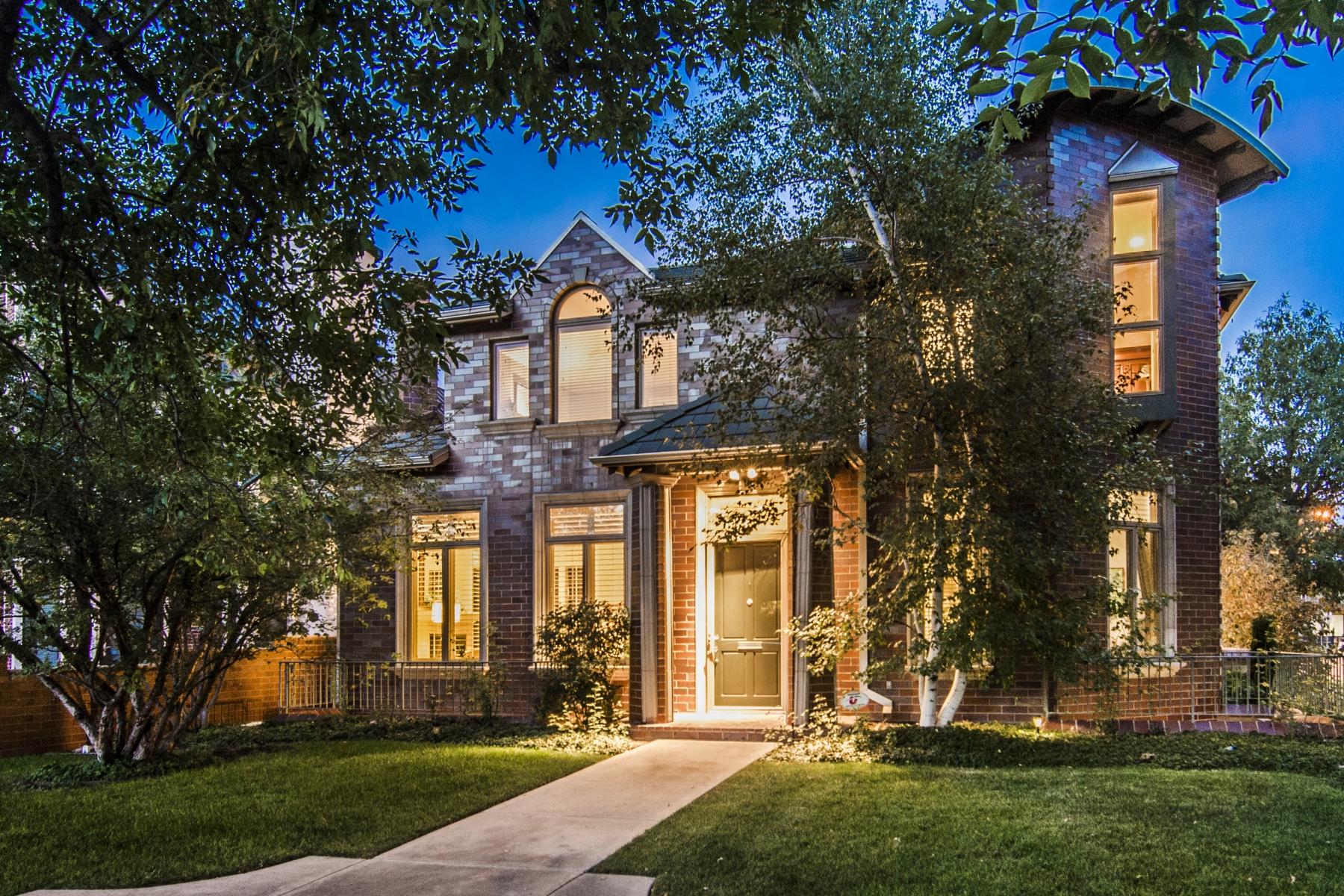 Single Family Home for Sale at Custom Jonathan Saiber Home 400 Clayton Street Denver, Colorado 80206 United States
