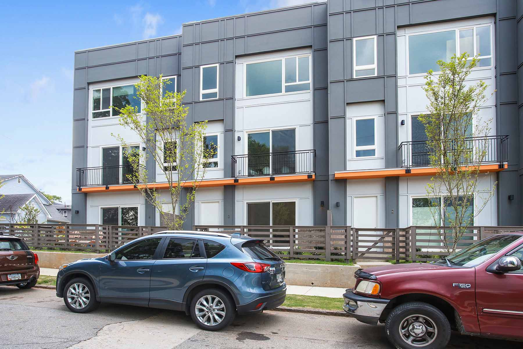 Таунхаус для того Продажа на The Edge On Lucy Street 71 Lucy Street SE Unit 3 Old Fourth Ward, Atlanta, Джорджия, 30312 Соединенные Штаты