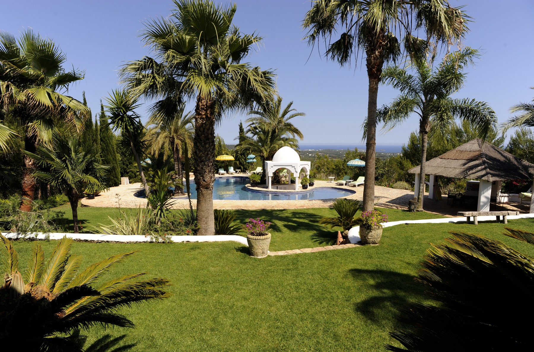 Single Family Home for Rent at Luxury Retreat With Sea Views Ibiza, Balearic Islands 07819 Spain