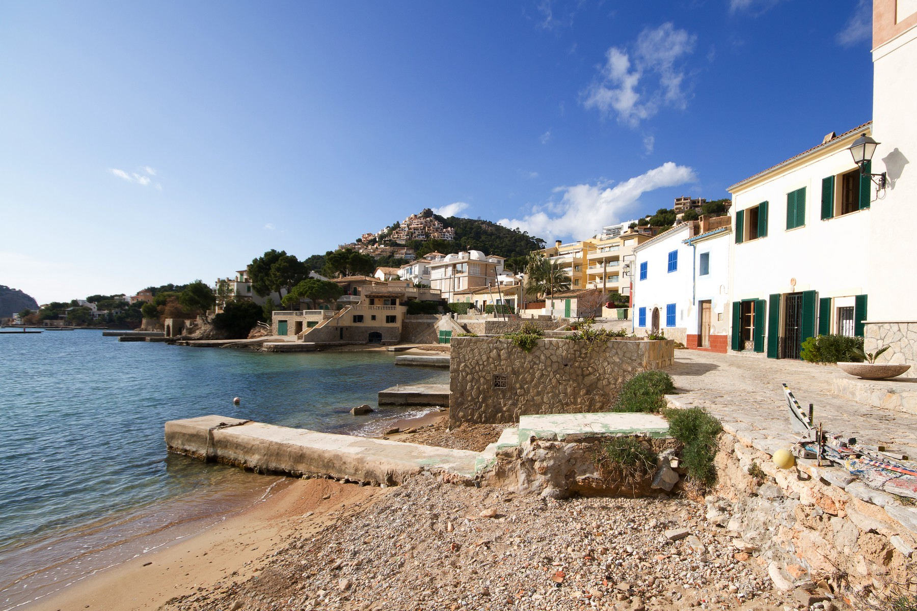 Single Family Home for Sale at Unique frontline fisherman´s house to refurbish Port Andratx, Mallorca 07157 Spain