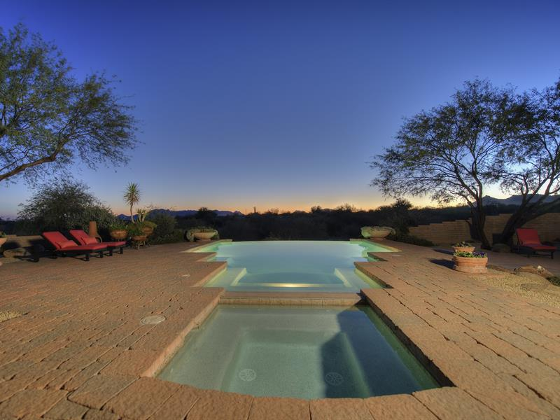 Single Family Home for Sale at 40 Acre Gentleman's Ranch next to Tonto Nat'l Forest w/ Ultimate Privacy & Views 32528 N 144th Street Scottsdale, Arizona 85262 United States