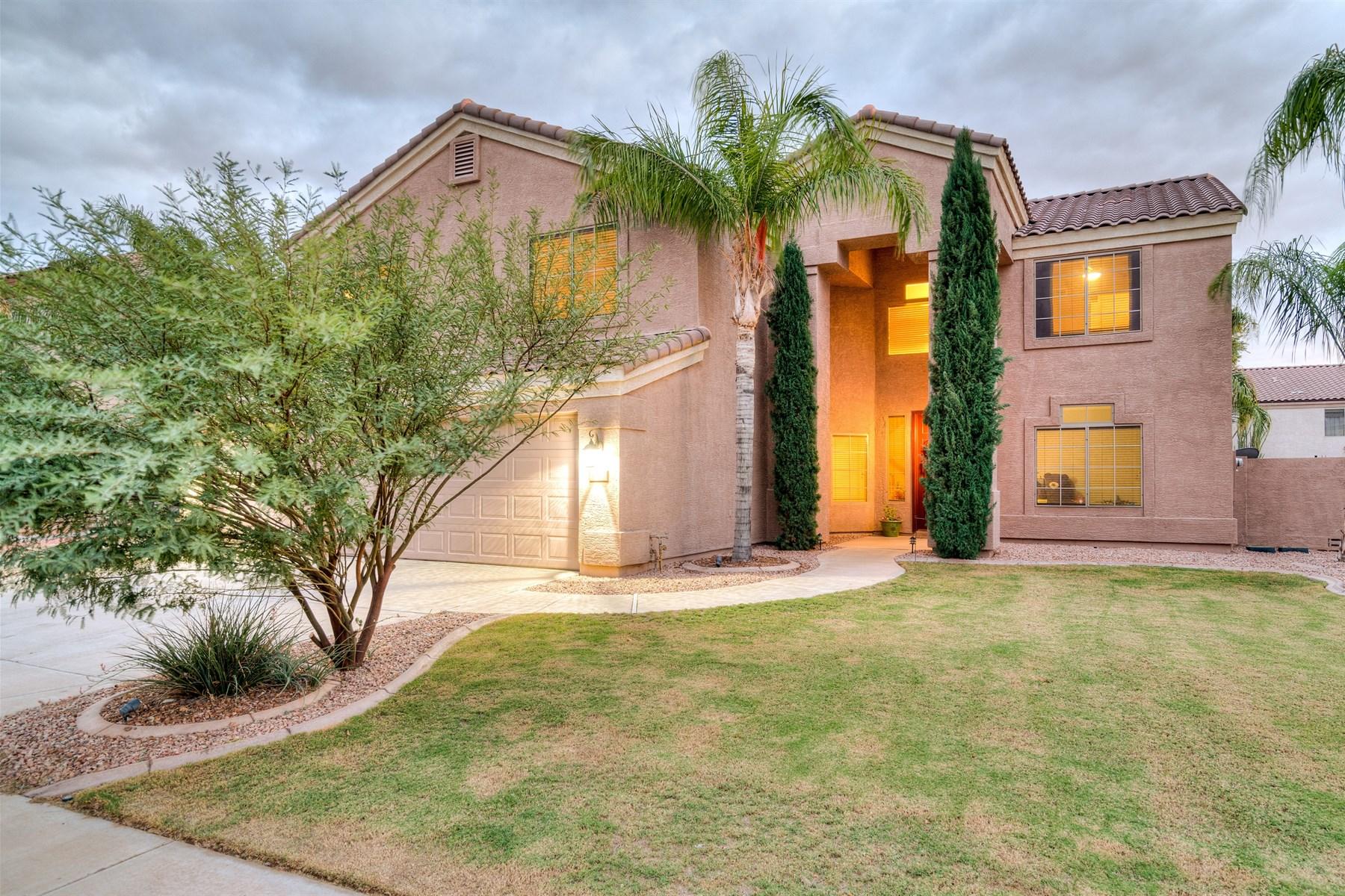 Maison unifamiliale pour l Vente à Beautiful home in Augusta Ranch 9545 E Lompoc Ave Mesa, Arizona 85209 États-Unis