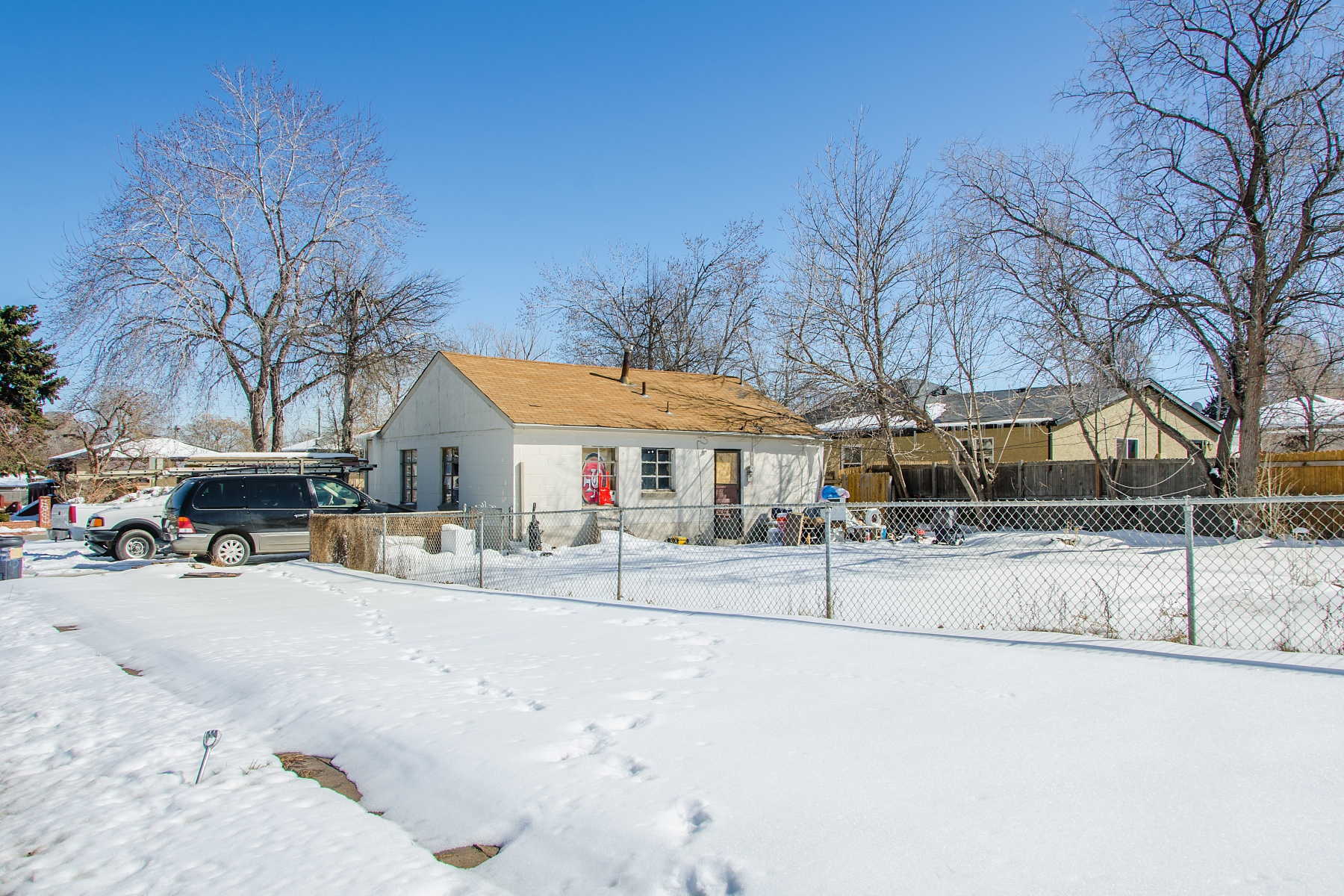 Single Family Home for Sale at Great Opportunity, Corner Lot. 1945 Hooker St Denver, Colorado 80204 United States
