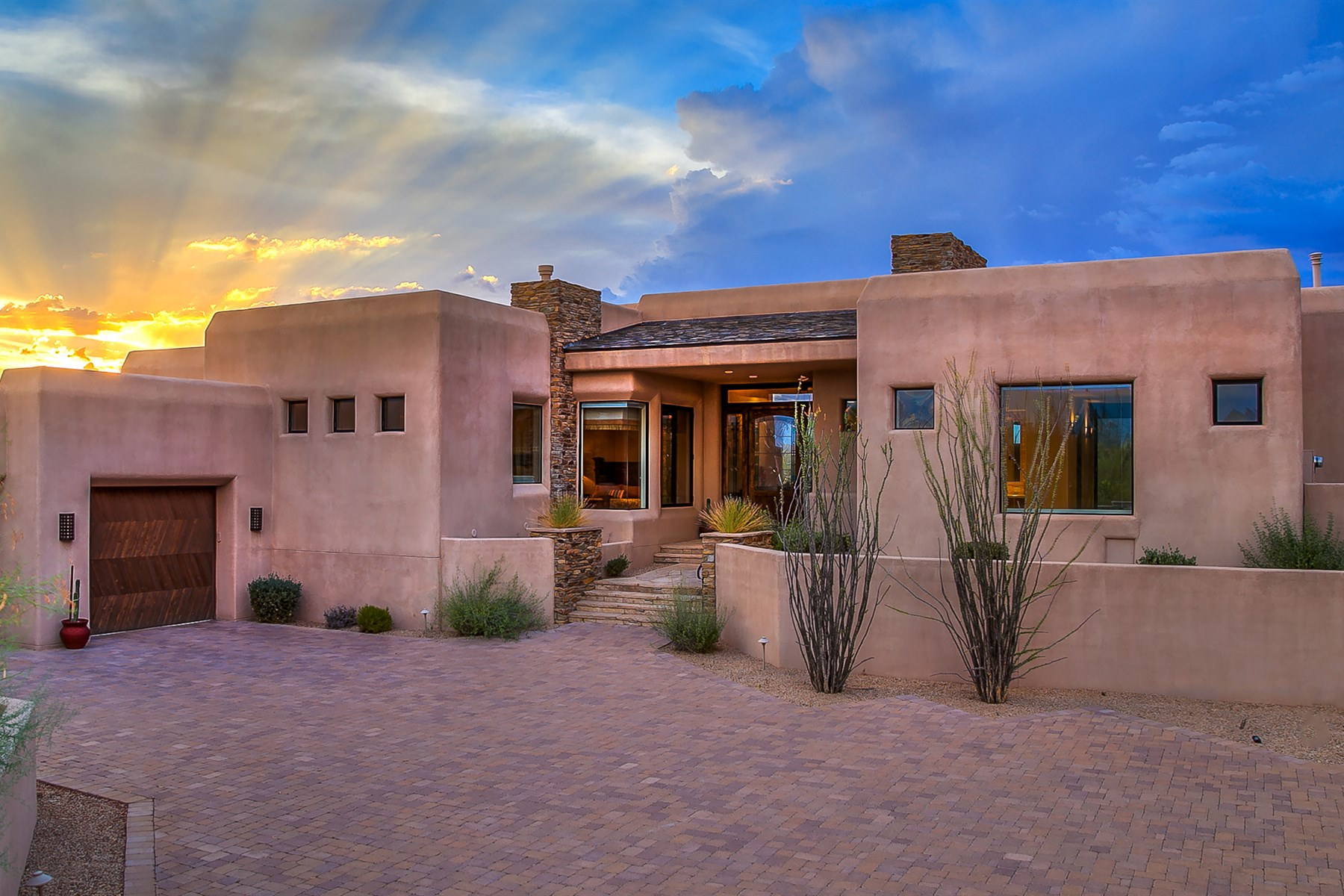Property For Sale at Incredible scenery in all directions, sits this custom contemporary home