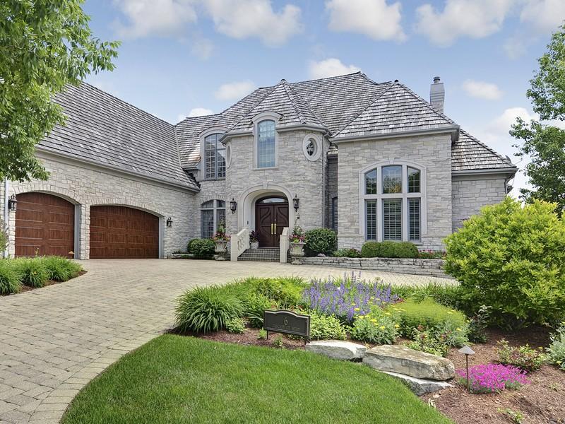 獨棟家庭住宅 為 出售 在 6 Cascade Ct, West Burr Ridge, 伊利諾斯州 60527 美國